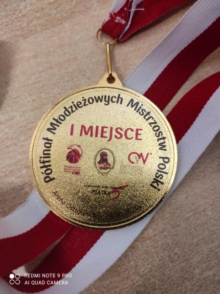 I miejsce w półfinale Mistrzostw Polski koszykówka dziewcząt U 13