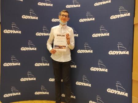 Pierwsze miejsce w Konkursie Wiedzy o Gdyni