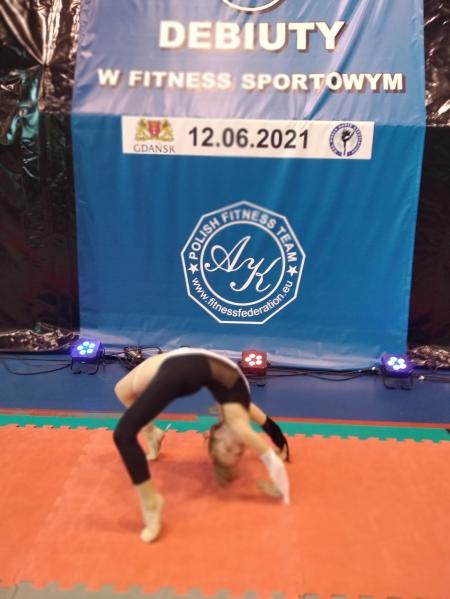 Mistrzostwa Polski w Fitnessie Sportowym - sukces Liliany