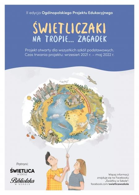Ogólnopolski projekt edukacyjny dla świetliczaków