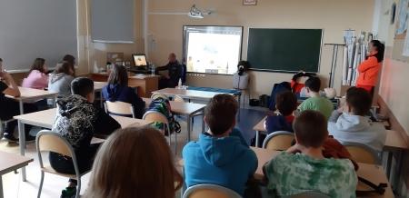 Wizyta żołnierzy 33. Dywizji Rakietowej Obrony Powietrznej w Gdyni